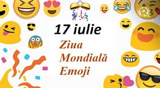 17 iulie: Ziua Mondială Emoji