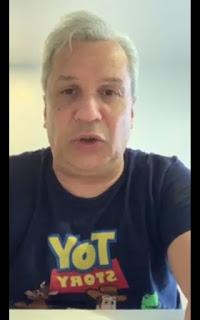 Apresentador Sikeira Júnior gravou vídeo respondendo supostas acusações feitas por Fabiano Gomes