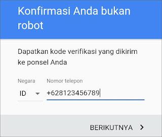 Cara Membuat Email Gmail di Android 7