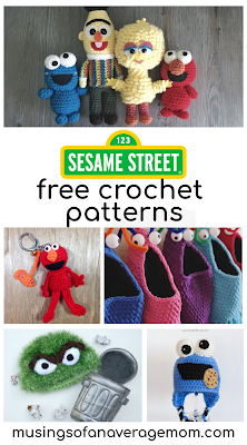 free sesame street crochet patterns
