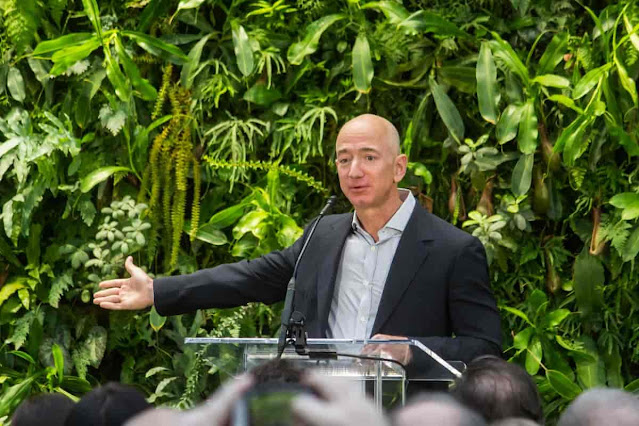 Jeff Bezos To Support Downwards As Amazon's CEO