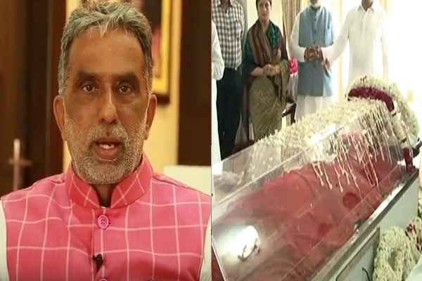 minister-krishan-pal-gurjar-sad-sushma-swaraj-demise-6-august-2019