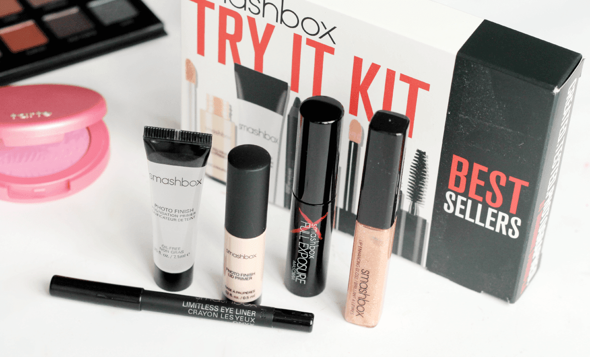 UK International USA beauty giveaway including the Lorac Pro, Tarte Blush, Sephora Lip Cream and Smashbox Kit