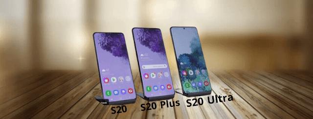مقارنة بين عائلة سامسونج الجديدة Galaxy S20 و Galaxy S20 Plus و Galaxy S20 Ultra