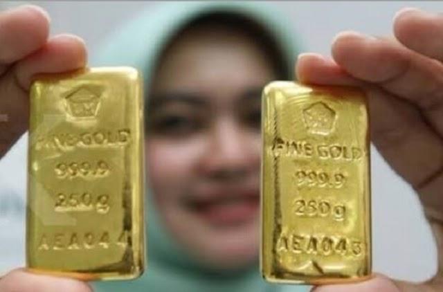 Harga Emas Hari Ini, Kamis 1 Oktober 2020 Naik Dibandingkan Kemarin