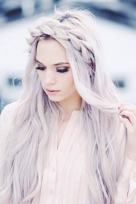 Various Exciting Braided Hairstyles Winter Look