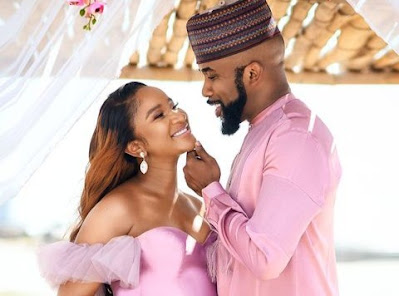 """""""My Baby Had A Baby"""" Banky W Eulogizes Wife On Her Birthday (Photos)"""