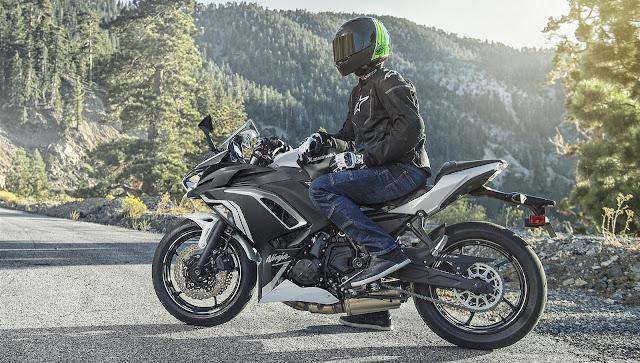 Kawasaki Ninja 650 2020 seat height