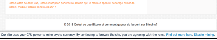 Cryptocurrency Mining Threat