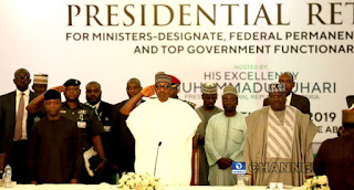The solution to Nigeria problem lies with us — Buhari tells ministers-designate