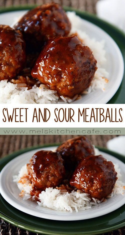 SWEET AND SOUR MEATBALLS #MEATBALLS #DINNER #LUNCH