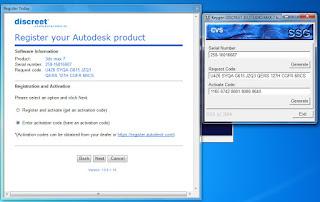 Aktivasi 3D Studio MAX 7.0