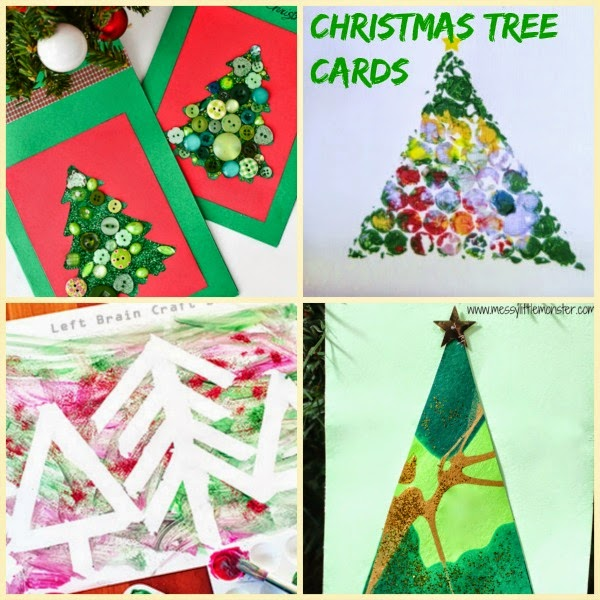 Christmas Tree handmade holiday cards