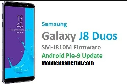 Download Samsung J8 SM-J810M Firmware  Combination File 100% Trusted Free Download By MobileflasherBD
