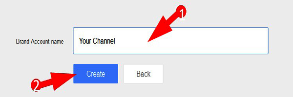 how to create double channel in youtube
