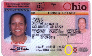 Ohio Drivers License Status >> Huey's Gunsight: Some states to add veteran status to state issued ID cards..