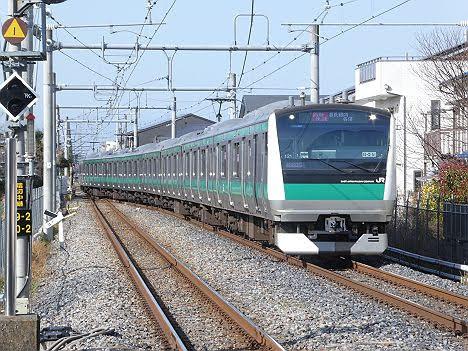 埼京・川越線 相鉄線直通 通勤快速 海老名行き E233系