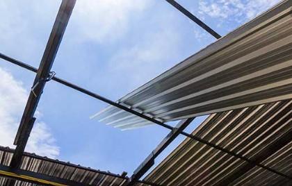 Cara menghitung volume atap seng sederhana