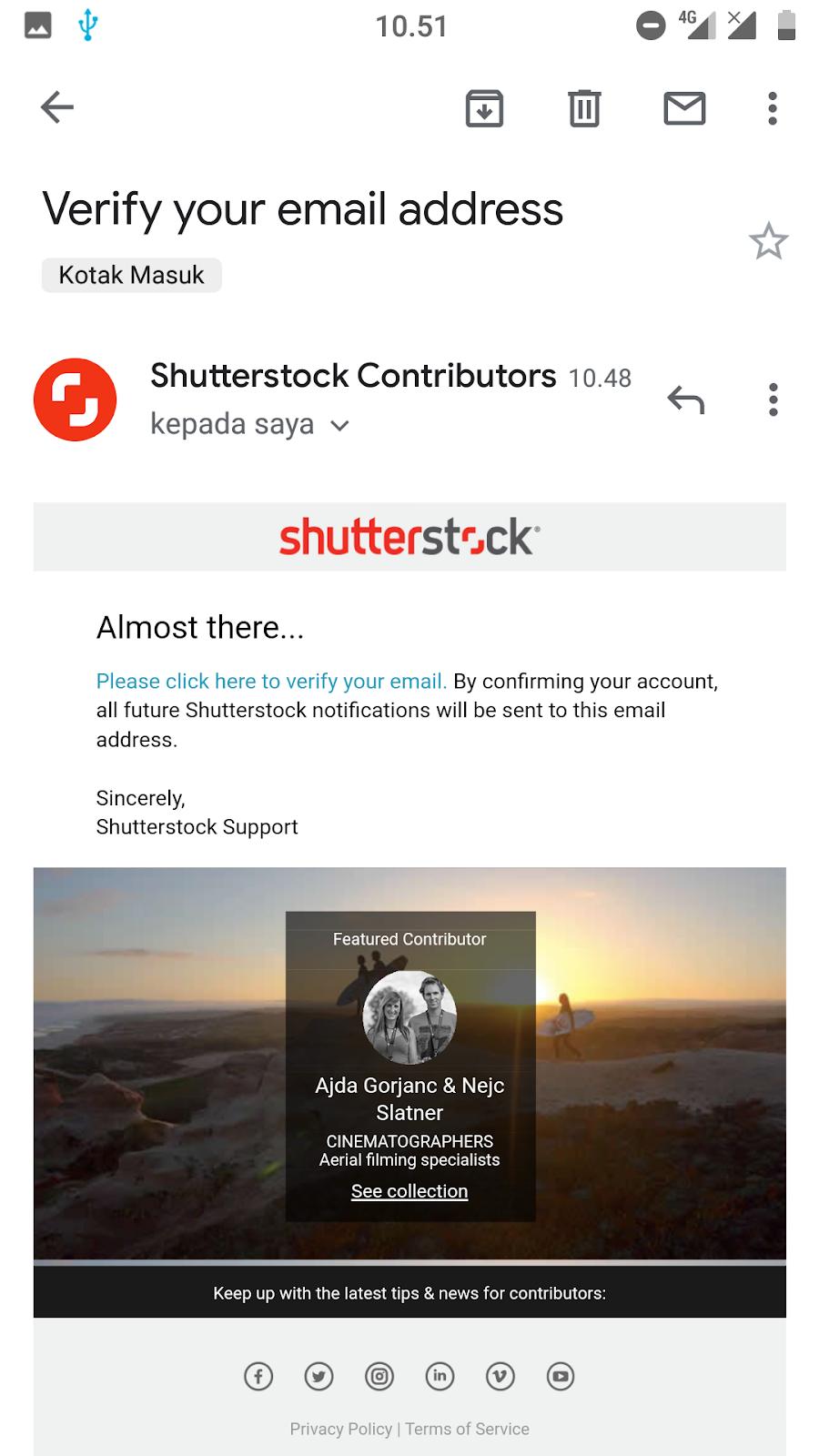Temukan Cara Buat Akun Shutterstock paling mudah