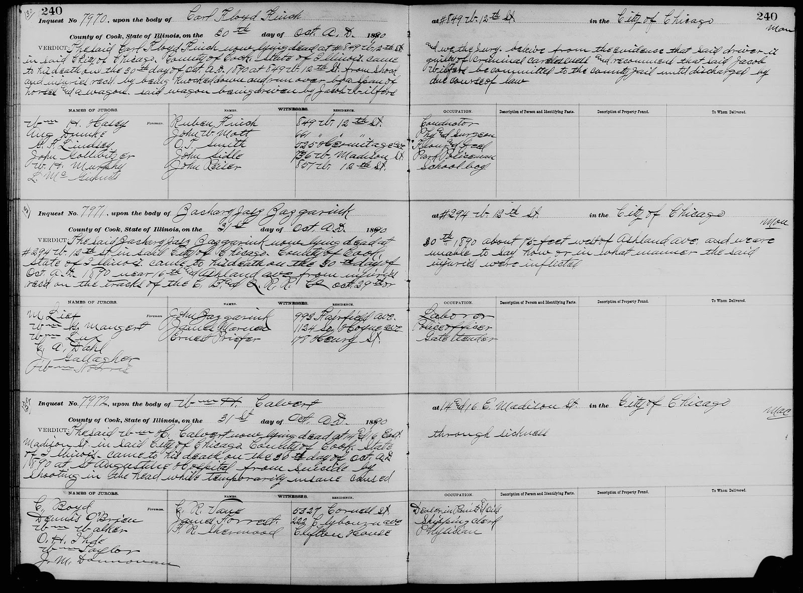 Chicagogenealogy research insights from study and serendipity cook county illinois coroners inquest records dec 1872 nov 1911 familysearch httpsfamilysearchsearchcatalog833825 accessed 19 aiddatafo Image collections