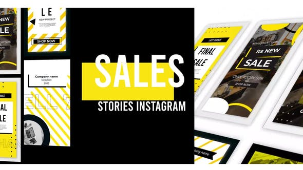 Sales Stories Instagram[Videohive][After Effects][28944522]
