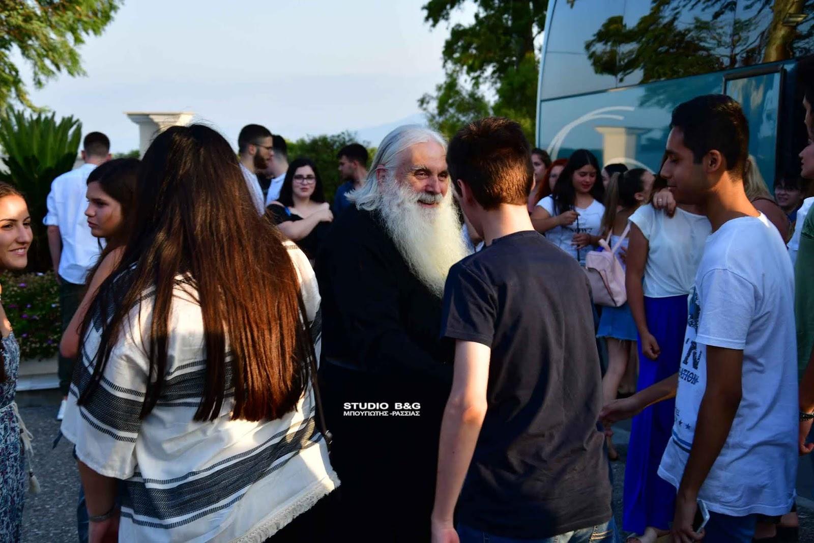 Τους αποφοίτους μαθητές δεξιώθηκε ο Μητροπολίτης Αργολίδος