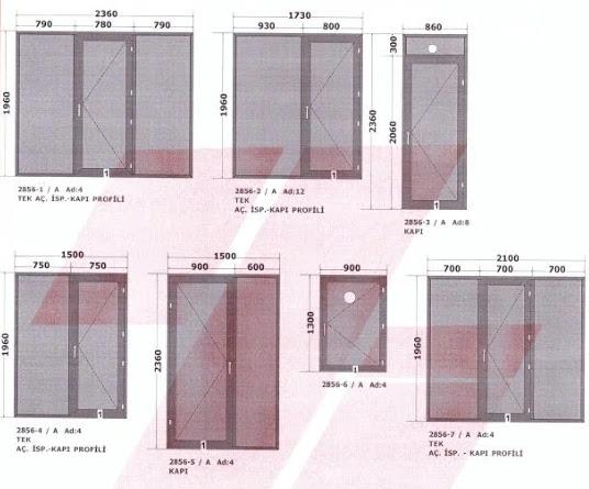 PVC Pencere Maliyeti ve Pvc Pencere İşleri İçin Fiyat Teklifleri