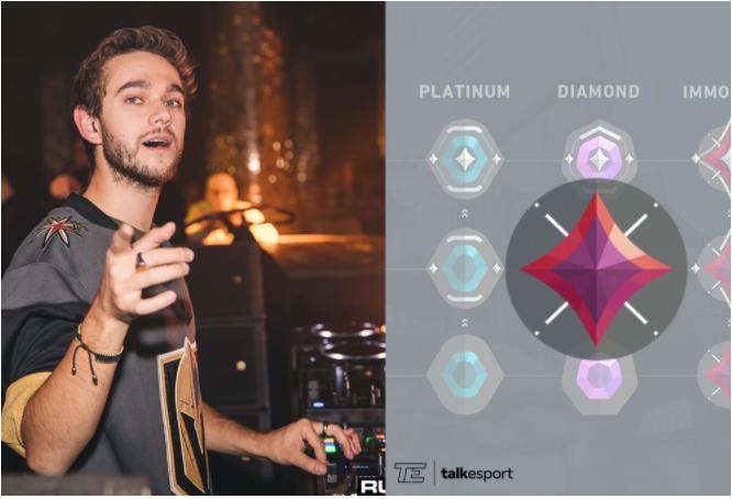 Popular DJ 'Zedd' Reaches Immortal Rank on Valorant