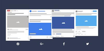 Các mạng xã hội khác cũng sử dụng Open Graph để thu thập các thuộc tính cần thiết của website khi chia sẻ