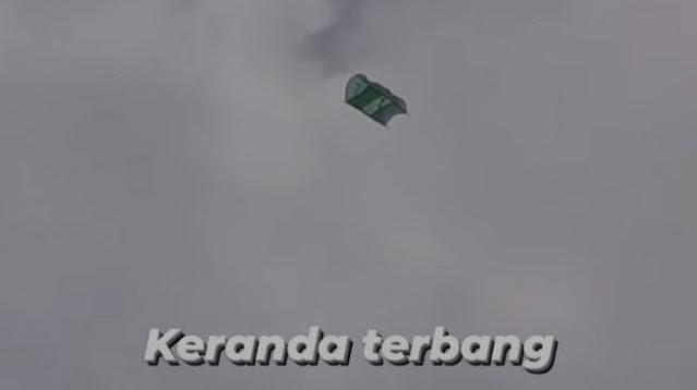 Keranda Terbang di Jakasampurna Bikin Kaget Warganet: Indosiar Menangis Lihat Ini
