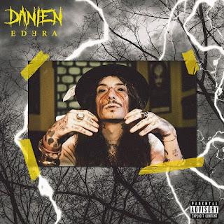 """La copertina del nuovo singolo """"Edera"""" di Danien."""