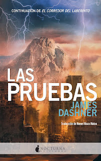 Las pruebas 2, James Dashner