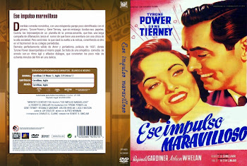 Carátula dvd: Ese impulso maravilloso (1948) (That Wonderful Urge)