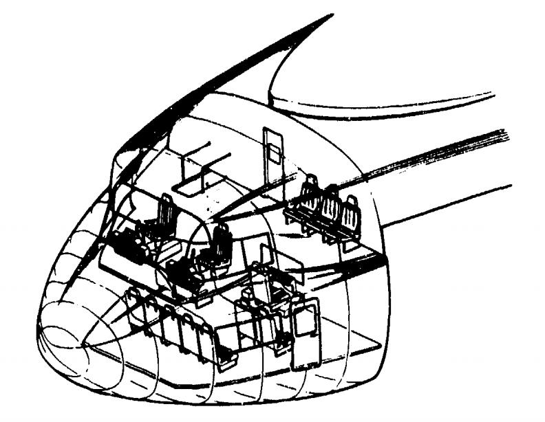 Очень грузоподъемный вертолет