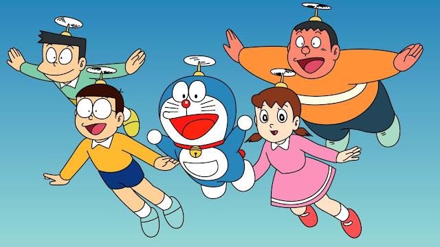 doraemon, nobita, shizuka, suneo, gian