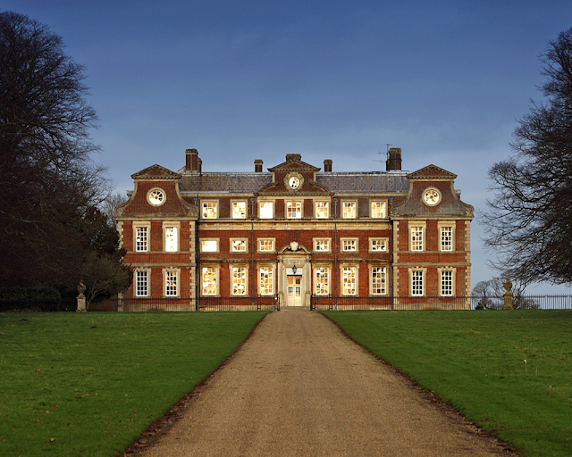 Raynham hall of Norfolk