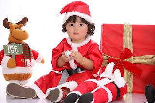 Book Infantil Fotos de Natal