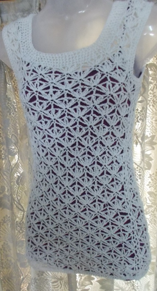 Sweet Nothings Crochet Daisy Top