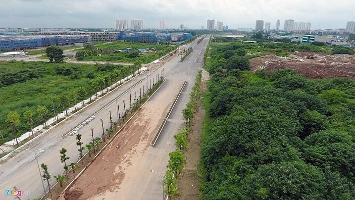 Tháng 10/2019 thông xe tuyến đường kết nối Nguyễn Xiển - Xa La