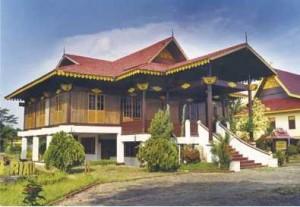 rumah adat kepulauan riau rumah adat tradisional Rumah melayu selaso jatuh kembar Gambar Rumah Adat Indonesia