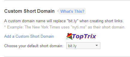Create Custom Short URL With Your Own Domain Free