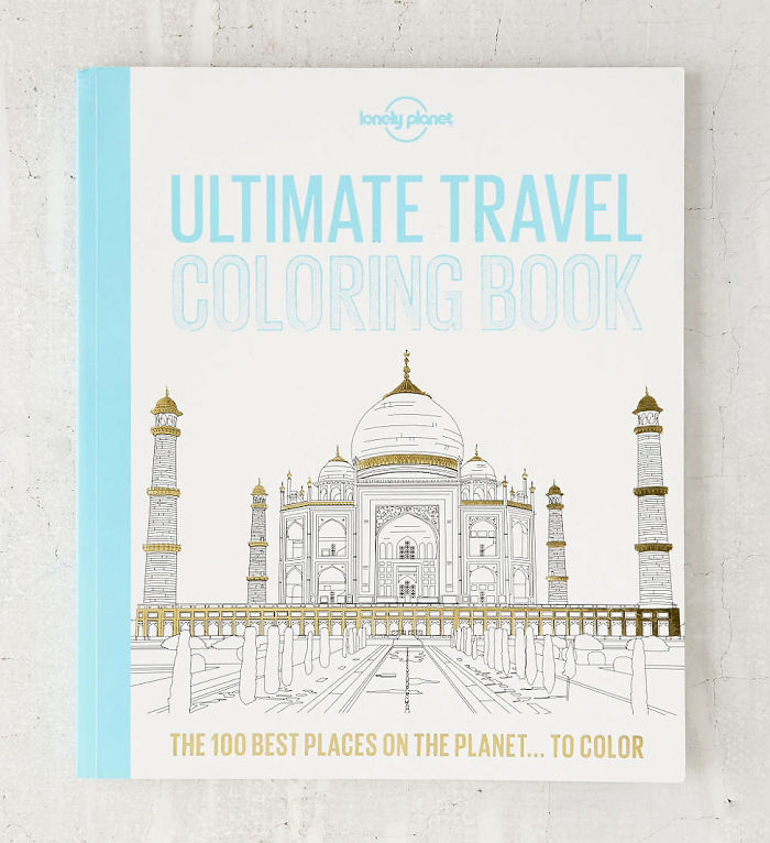 15+ Of The Best Traveler Gift Ideas Besides Actual Plane Tickets - Ultimate Travel Coloring Book