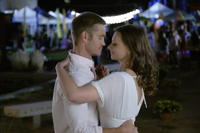 Aly Michalka and Chad Michael Murray in Sand Dollar Cove