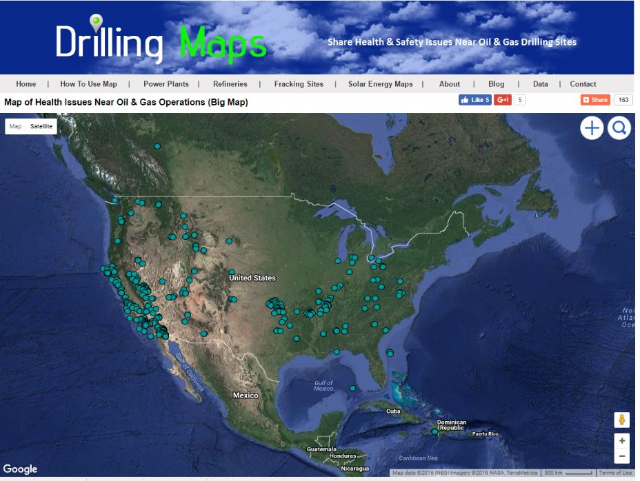 Drilling Maps: 2016