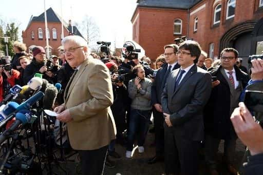 ONU pide al régimen español cesar la persecusión política y encarcelamiento del liderazgo catalán