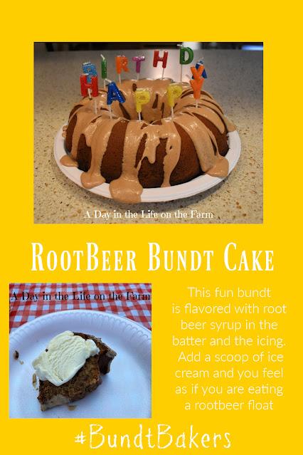 root beer bundt pin