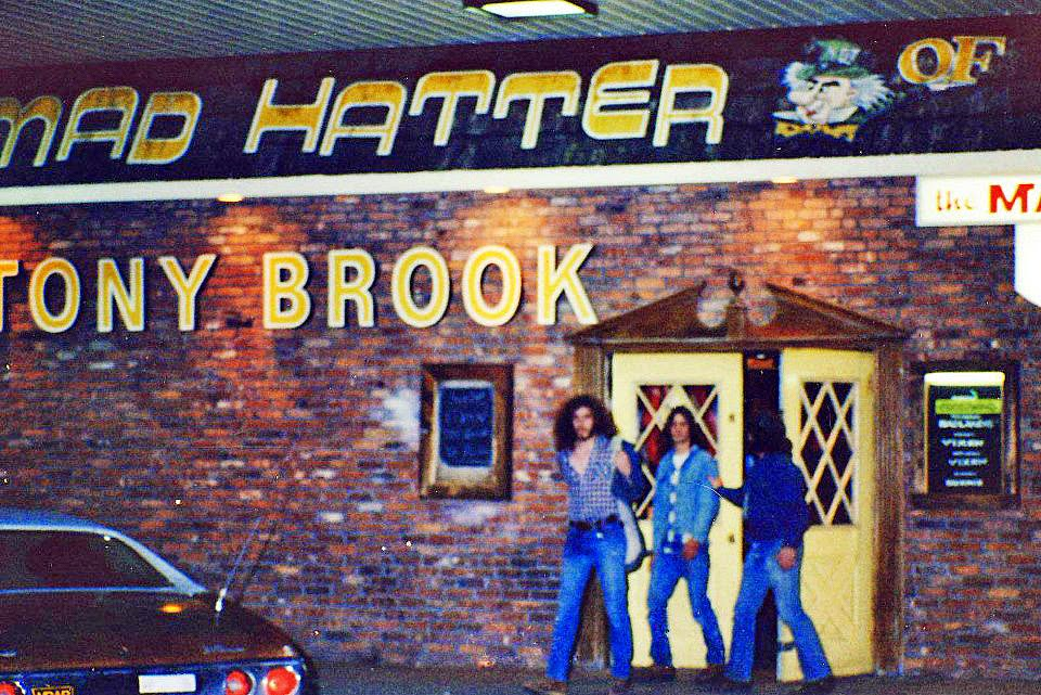 The Mad Hatter rock club in Stony Brook, Long Island