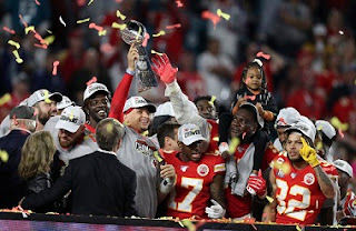 2020 Super Bowl LIV: Kansas City Chiefs beat San Francisco 49ers 31-20, first title in 50 years.