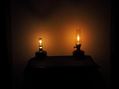 ルミエールとノクターン 光量の比較