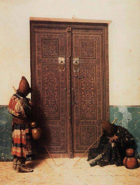 Василий Васильевич Верещагин - У дверей мечети. 1873